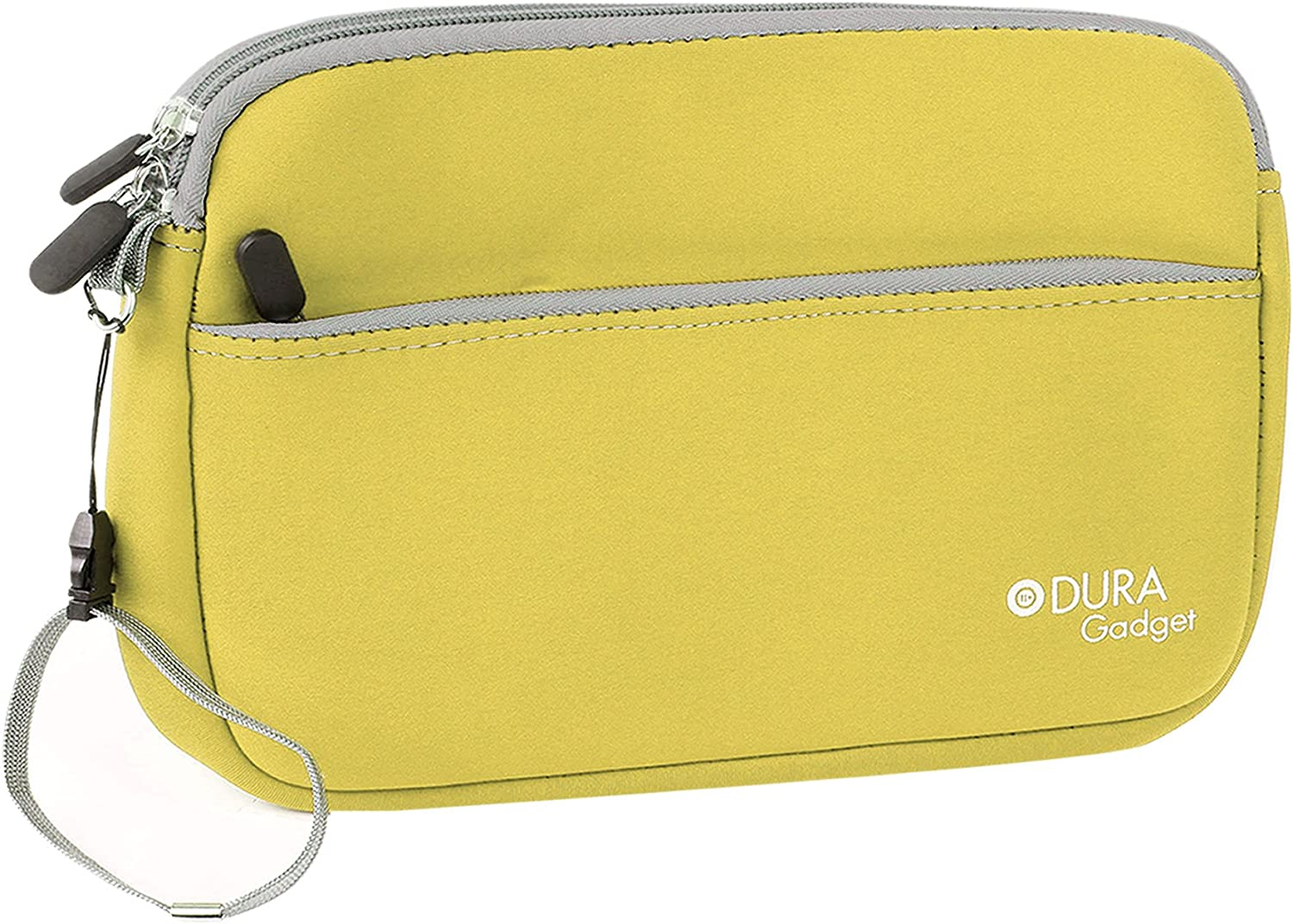 DURAGADGET Yellow Pouch - Compatible with SmartPad EP800 Ultra | EP801 /Acer Iconia B1 | A1 | W3 /Polaroid MIDCD08 /I-Onik TP8-1200QC | TP785-12000C | TP8-1500DC /Haier Mini 8-Inch & Mini 8-Inch