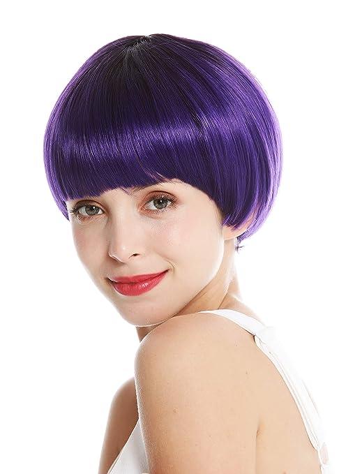 Wig Me Up Vk 6 Deepviolys4 Peluca De Mujer Pelo Corto
