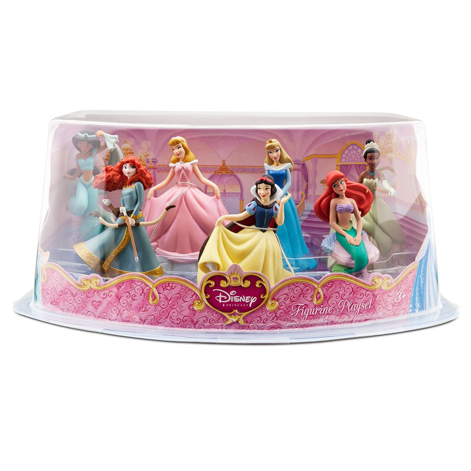 Amazoncom Disney Princess MiniFigure Play Set 1 Toys Games