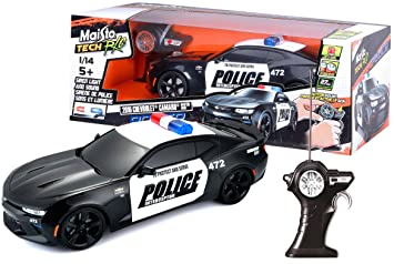 Ss Rc France Radiocommandée Chevrolet Bburago Maisto Camaro Police mnwvO08N