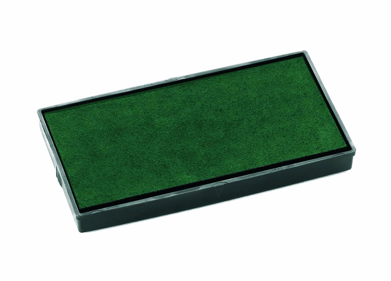 confezione da 2 pezzi Cuscinetti di ricambio per timbro colore: Verde COLOP E//50//1