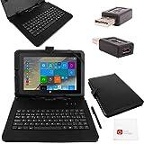 BQ Duo Case - Funda para Tablet Tesla 2 W8, Color Negro: Amazon.es: Informática