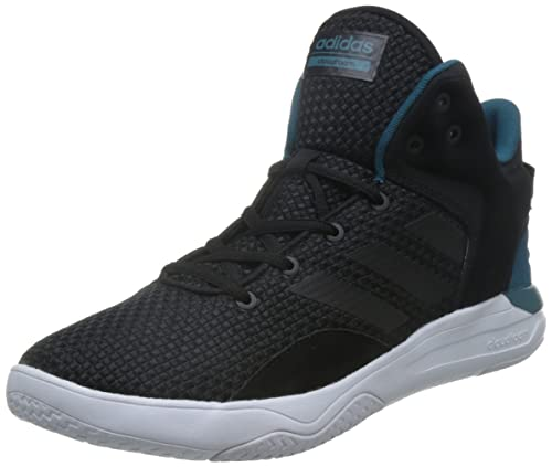 best cheap f0777 3e9e0 adidas neo Mens Cloudfoam Revival Mid Cblack and Surpet Leather Sneakers -  8 UKIndia (42 EU) Buy Online at Low Prices in India - Amazon.in