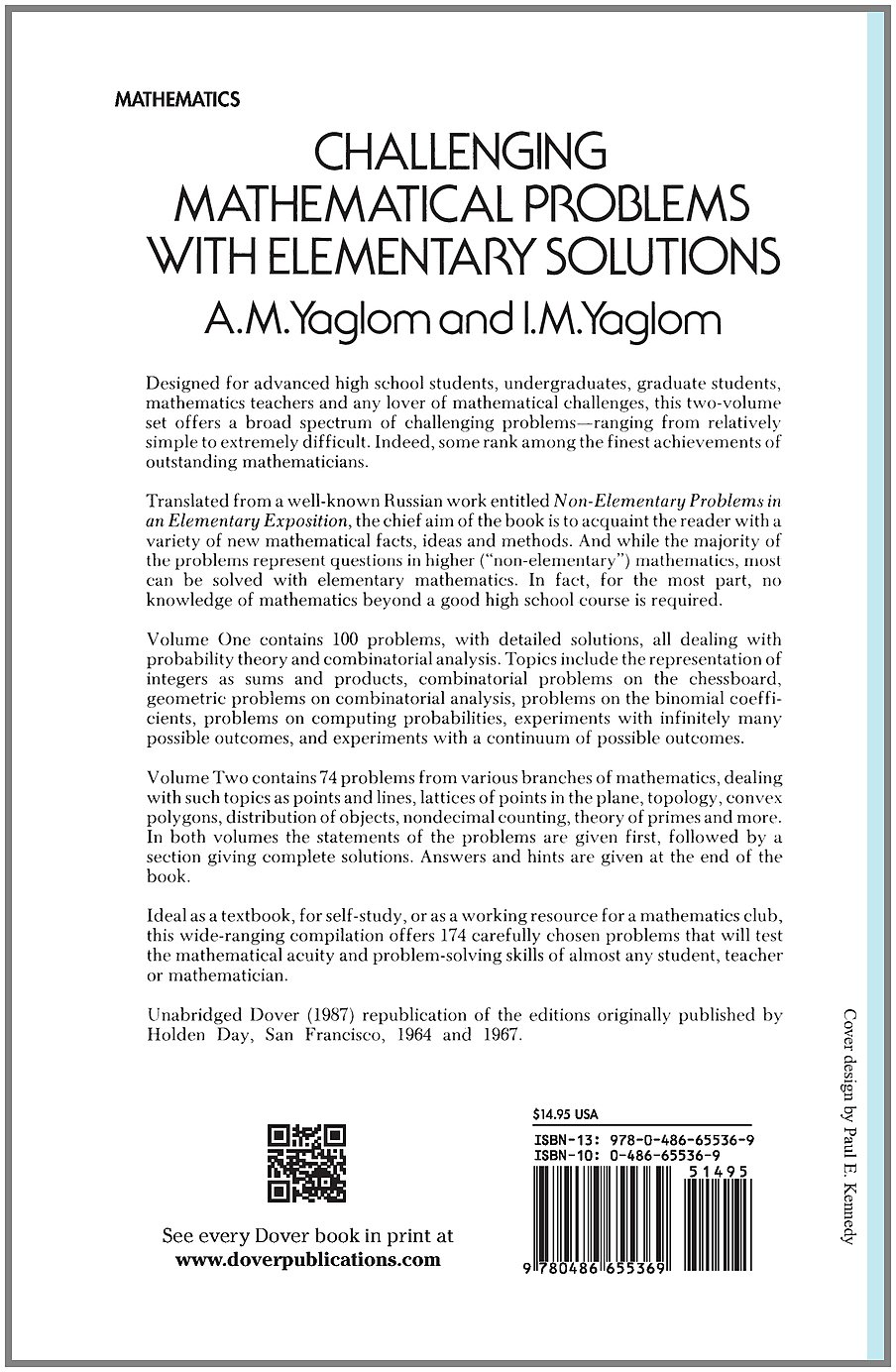 challenging mathematical problems elementary solutions vol challenging mathematical problems elementary solutions vol 1 a m yaglom i m yaglom 0800759655366 com books