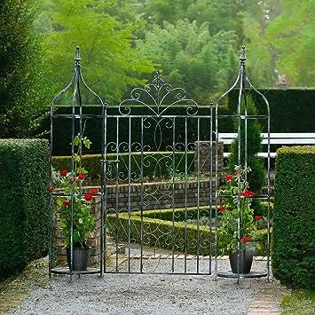 Puerta para jardín Chalet Du Encanto con oberlisken