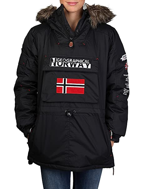 GEOGRAPHICAL NORWAY chaqueta mujer Bulbeuse negro - mujer ...
