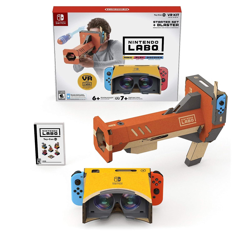 Nintendo Labo Toy-Con 04: VR Kit - Starter Set + Blaster for NintendoSwitch USA: Amazon.es: Nintendo, Nintendo of America: Cine y Series TV