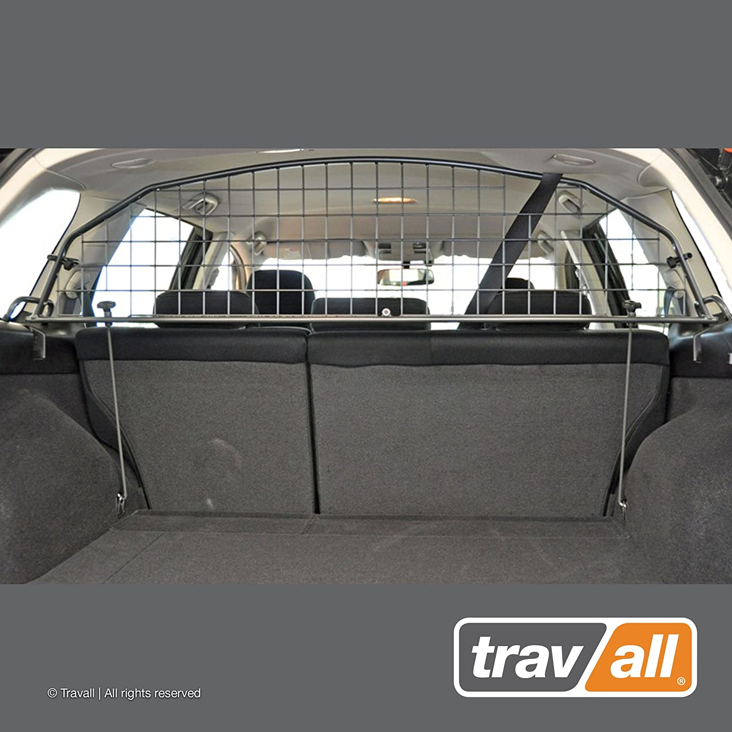 Travall Guard Compatible with Subaru Outback and Legacy Wagon 2009-2014 TDG1182 – Rattle-Free Steel Pet Barrier