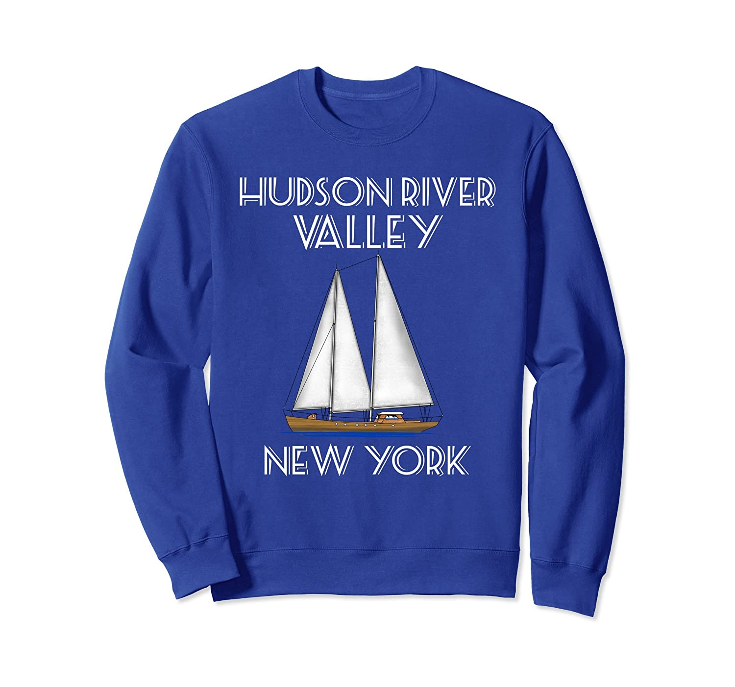 Sailing Hudson River Valley New York Sweatshirt-AZP