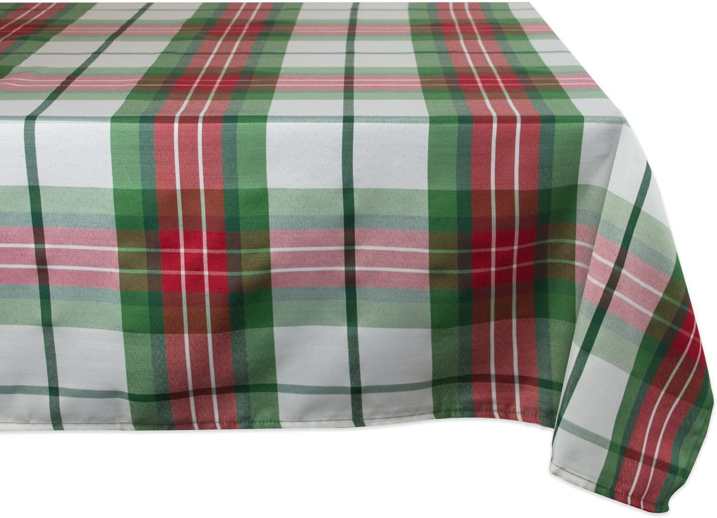 Dii 52x90 Rectangular Polyester Tablecloth Cozy Christmas Plaid Perfect For Dinner Parties Christmas Holidays Or Everyday Use Home Kitchen