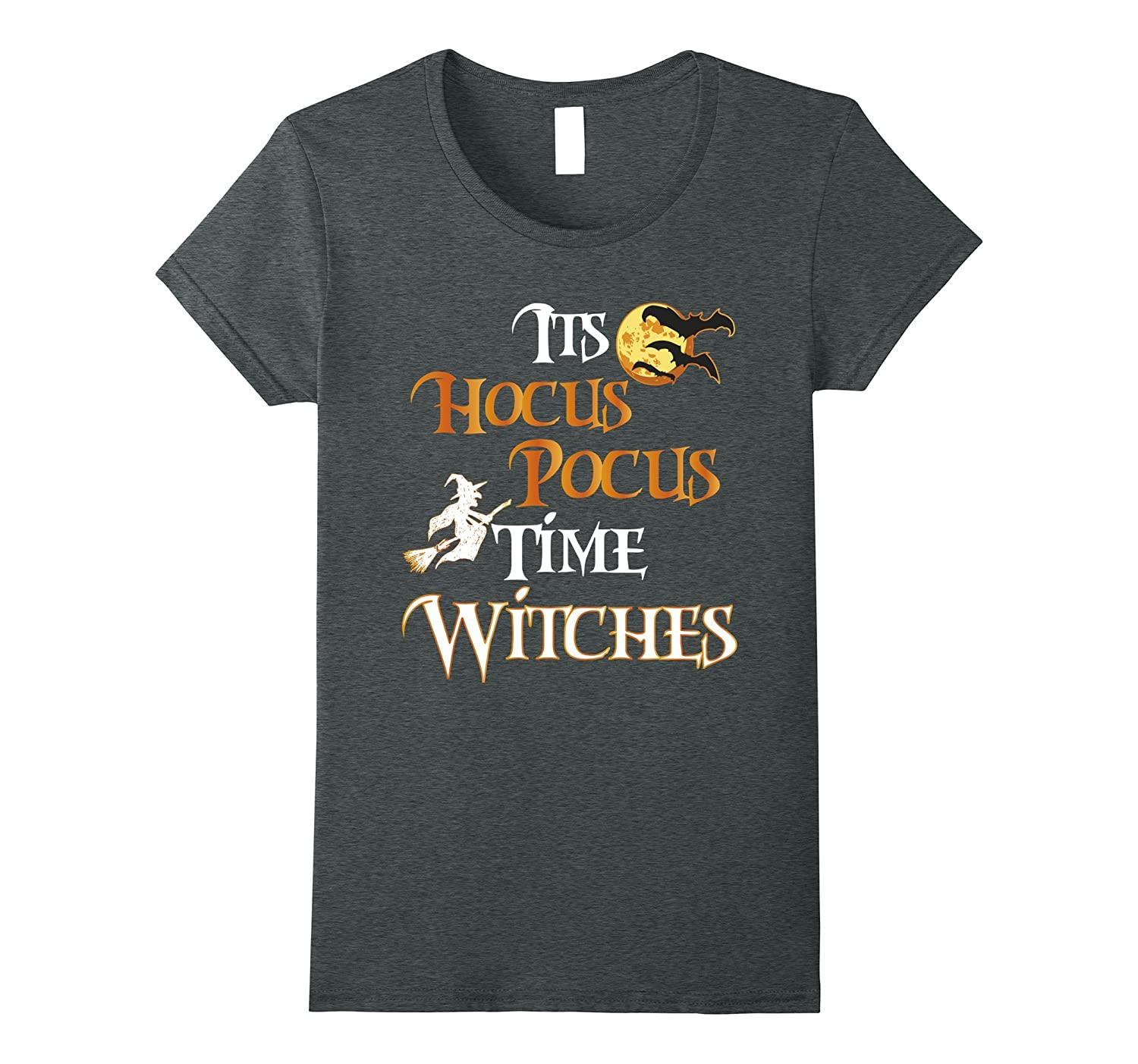 Halloween Witch Shirt-It's Hocus Pocus Time Witches Tshirt