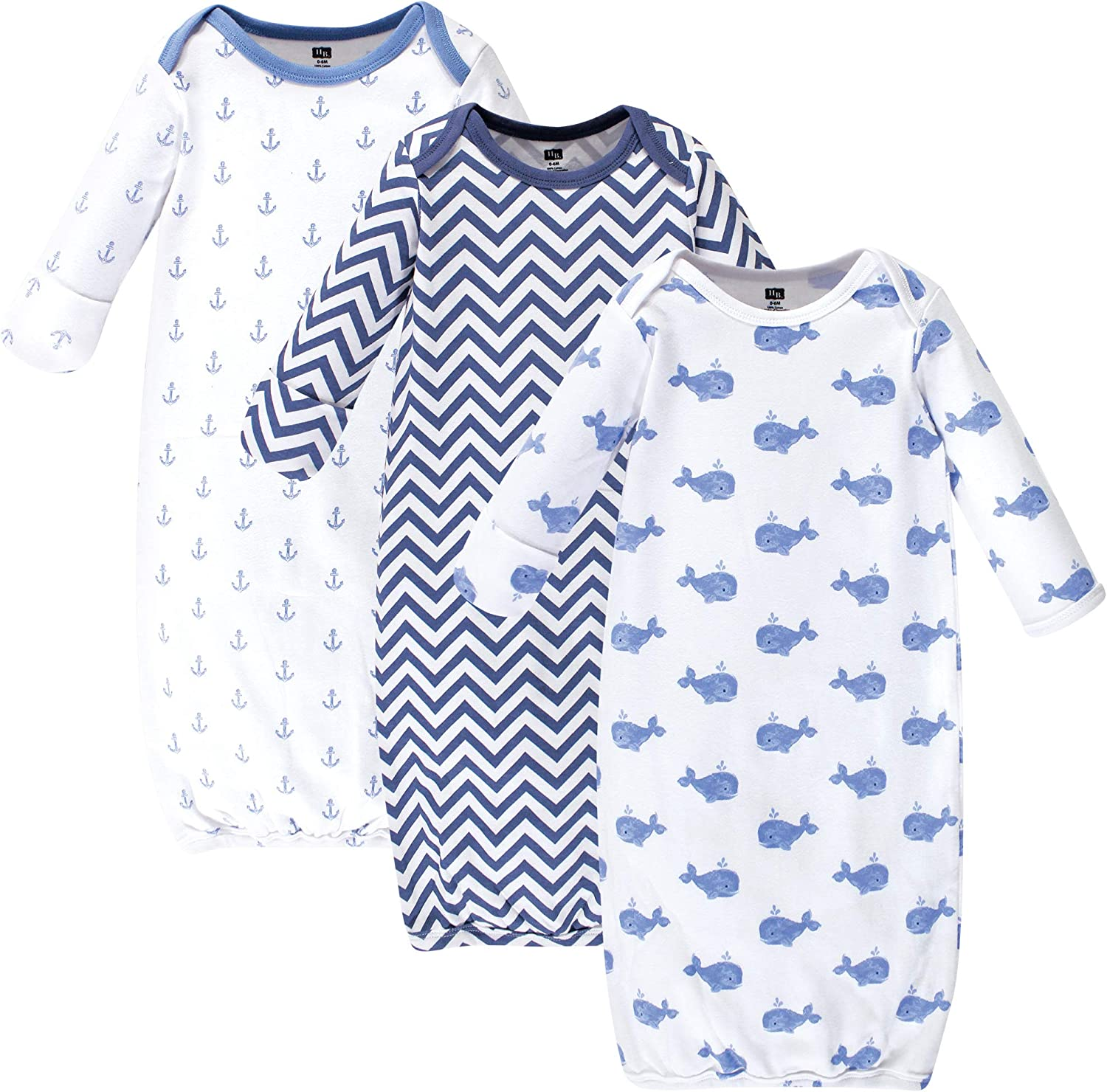 Hudson baby Unisex-Baby Cotton Gowns Nightgown