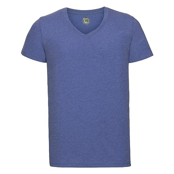 bddc3c78b78718 Russell Herren HD T-Shirt mit V-Ausschnitt