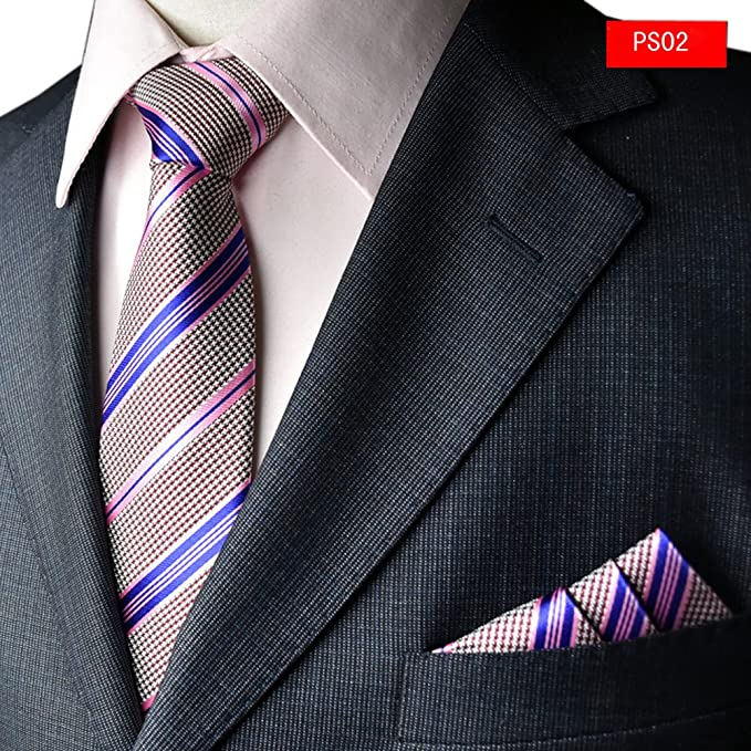 Amazon.com: Para hombre desgaste Formal Business corbata y ...