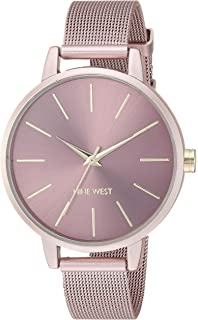 9060a0253a65 Nine West NW1981GYRT Reloj de Diseñador para Mujer  Amazon.com.mx ...