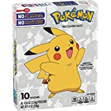 Betty Crocker, Fruit Snacks, Pokemon Pouches, 10 Ct