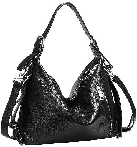 Heshe Womens Vintage Casual Style Shoulder Handbags Totes Top Handle Bags Cross body Bag Satchel Pur...
