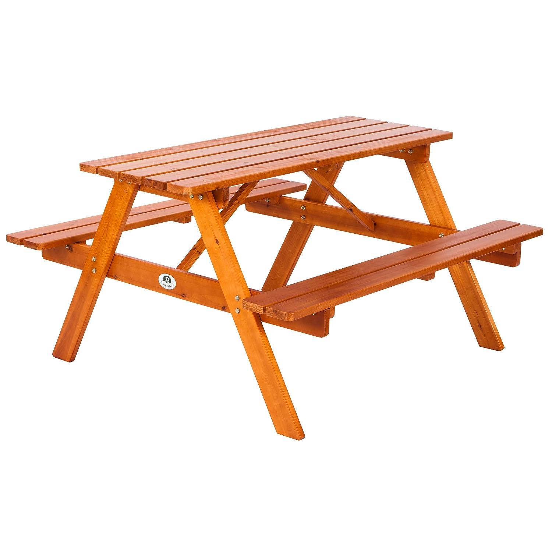 Amazon.de: Ultranatura Picknicktisch-Kombination mit Bänken Lüneburg ...
