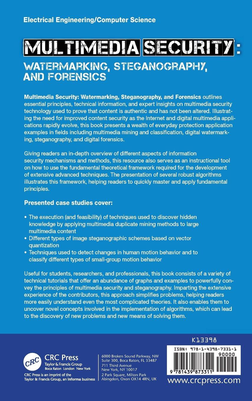 Buy Multimedia Security: Watermarking, Steganography, and