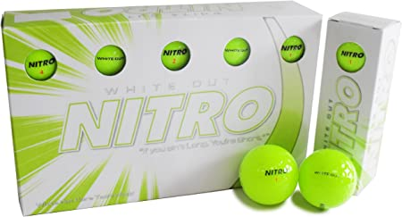 Amazon.com: Nitro Long Distance Peak Performance Golf Balls ...
