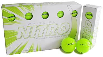 Amazon.com : Nitro Long Distance Peak Performance Golf Balls ...