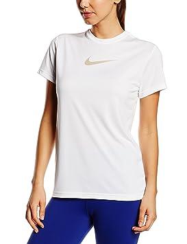 dedf2fca1 Nike Girl's Legend Top T-Shirt: Amazon.co.uk: Sports & Outdoors