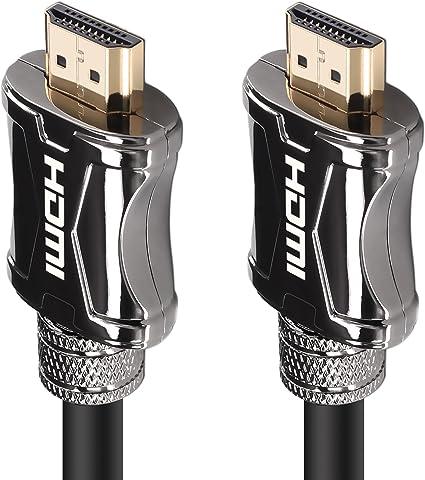 1.4 Ethernet 4K UHD FULL HD 3D HDR LED TV für PC PS4 1m HDMI Kabel 2.0