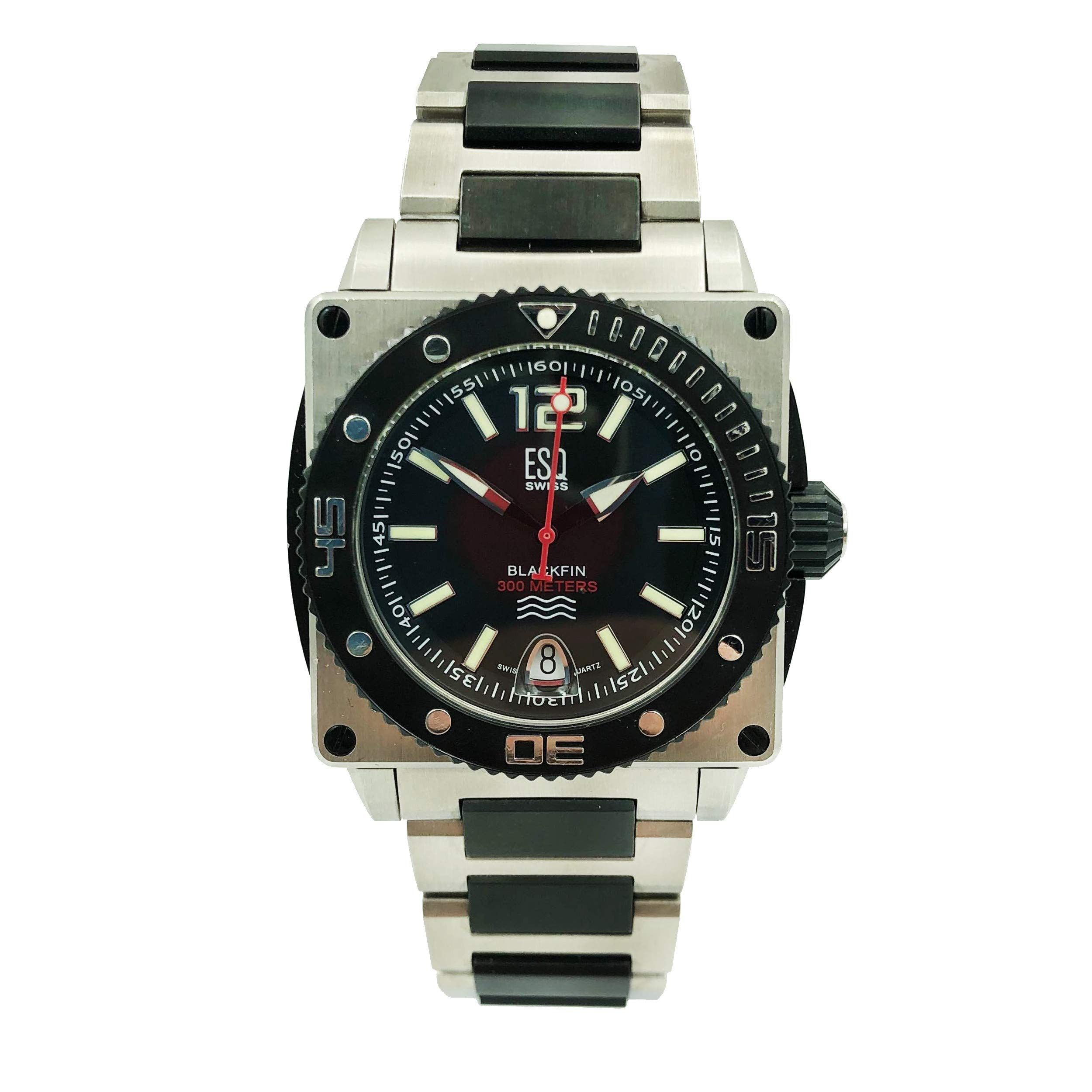ESQ Blackfin Quartz Male Watch 07301148 (Certified Pre-Owned)