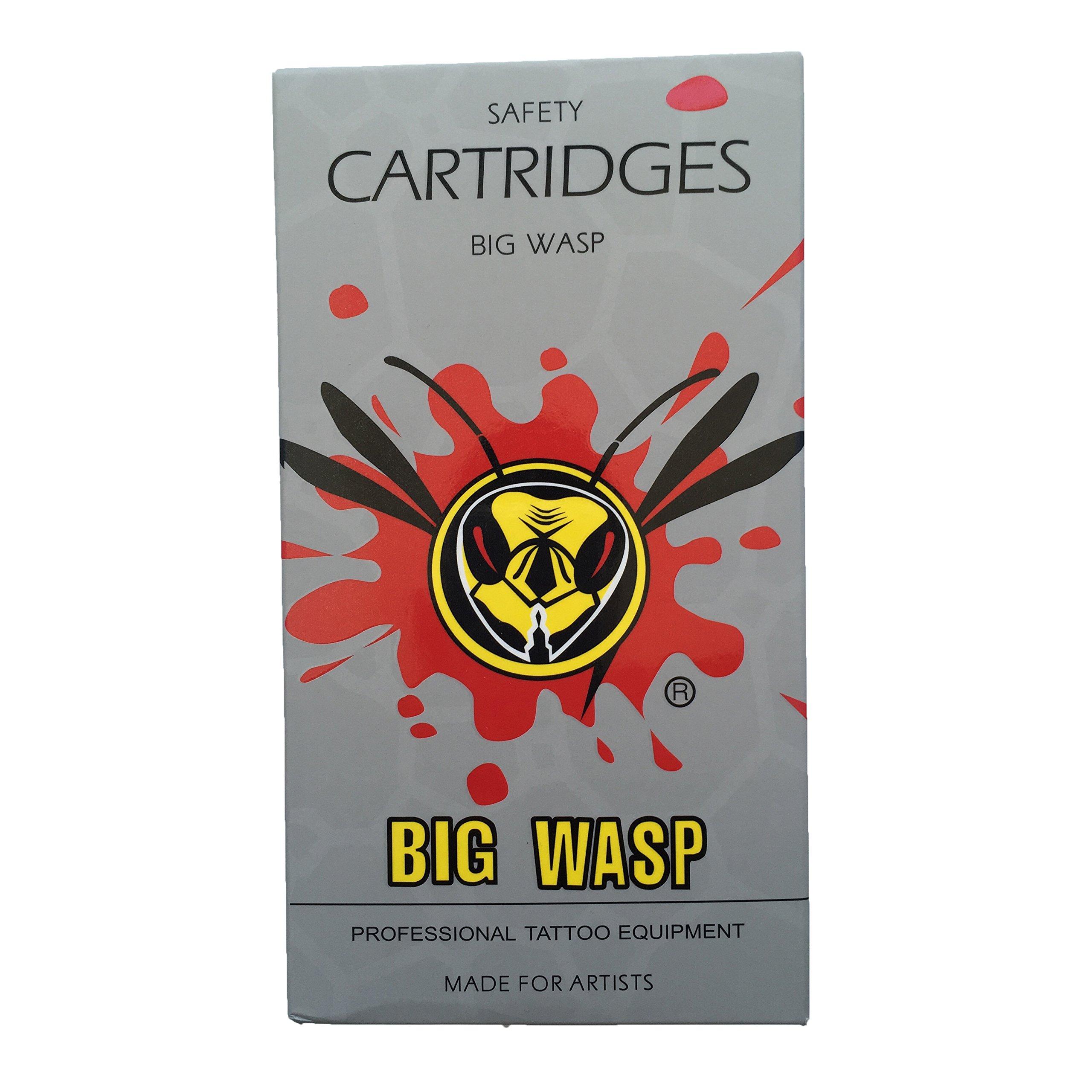 BIGWASP Professional Disposable #10 Bugpin (14RS) Tattoo Needle Cartridge 14 Round Shader 20Pcs V2 by BIGWASP (Image #5)