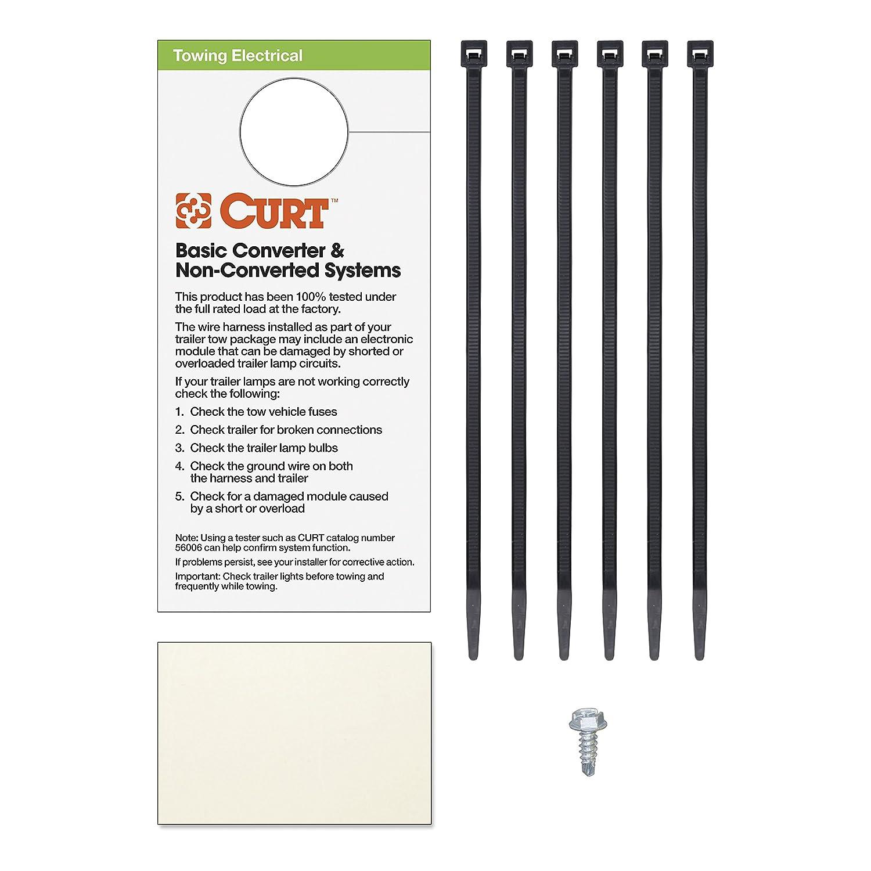 Amazon.com: CURT 55329 Custom Wiring Harness: Automotive