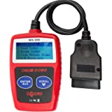 OxGord CAN OBD II Scanner Tool for Check Engine Light & Diagnostics, Direct Scan and Read Out (1 Pack (MS-309))