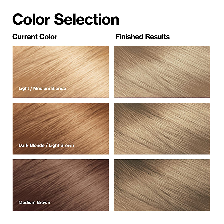 Revlon Colorsilk Beautiful Color, Permanent Hair Dye with Keratin, 100% Gray Coverage, Ammonia Free, 60 Dark Ash Blonde : Chemical Hair Dyes : Beauty