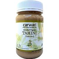 Carwari Organic Gluten Free Unhulled White Tahini Paste Jar, 375 g