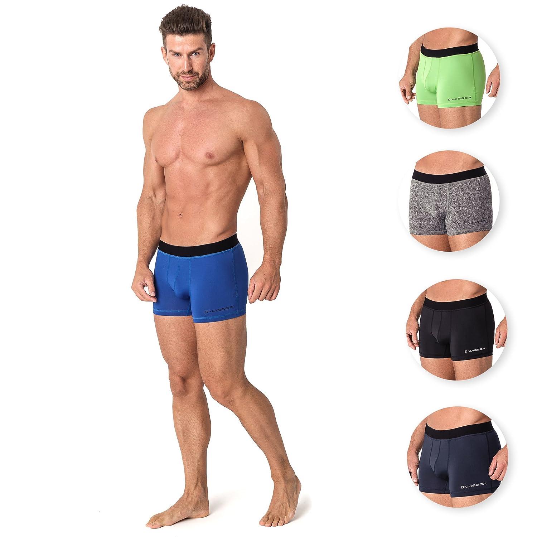 Wisser RxM51 Unterhosen: Thermoaktive Sportunterwäsche für Radfahren Laufen und Workout Antibakterielles Material mit Silberionen - Trocknen Schneller, leiten Feuchtigkeit von der Haut ab markArtur