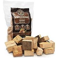 Grill Republic Wood Chunks/Hochwertiges Räucherholz für Smoker & Grill/Räucherklötze aus reinem Holz