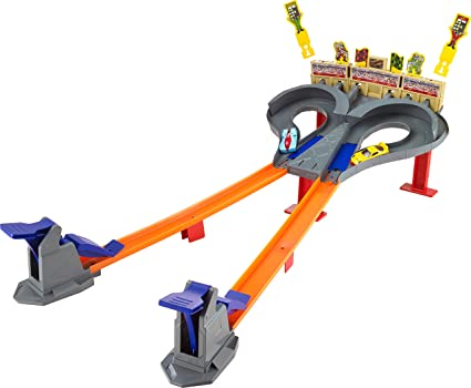 Amazon.com: Hot Wheels Super Speed Blastway Dual Track Racing Ages 6 and older: Toys & Games
