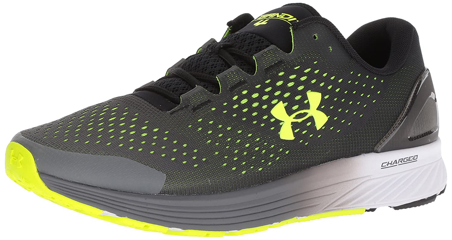 Under Armour Homme Charged Bandit 4, Charged Bandit 4 Homme Armour 46.5 EU M|Black (006)/Graphite 3e8547