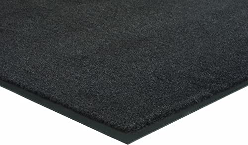 Hecht Rubber Herco 3 x 6 Indoor Outdoor Plush Carpet Mat – Black