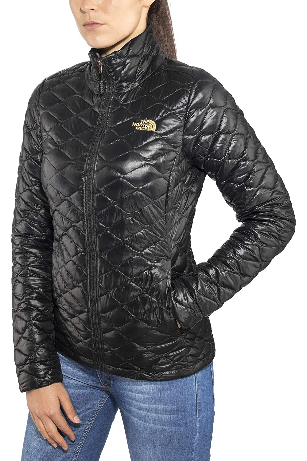 Tnf Black Shine L The North Face Thermoball Women's Outdoor Jacket
