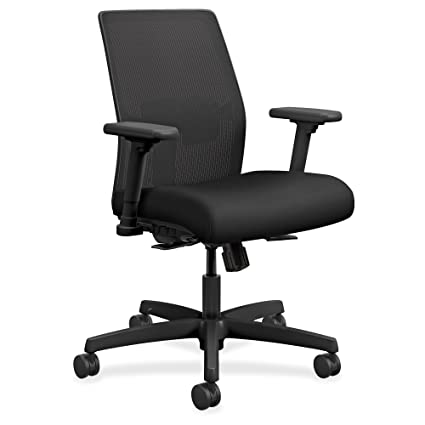 Delicieux Amazon.com : HON I2L1AMLC10TK Ignition 2.0 Ilira Stretch Low Back Mesh Task  Chair, Black Fabric Upholstery : Office Products