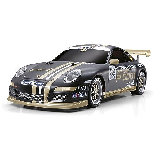 Carson 300058407 - 1:10 RC Porsche 911 GT3 Cup VIP07 TT-01E, Fahrzeug