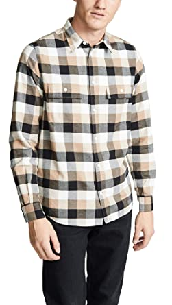 455ba3d54 Norse Projects Men s Villads Brushed Flannel Check Shirt at Amazon ...