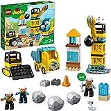 LEGO® DUPLO® İnşaat Yıkım Aracı 10932 Okul Öncesi Çağdaki Çocuklar için Eğlenceli, Yaratıcı İnşaat Sahası Oyuncağı (56…