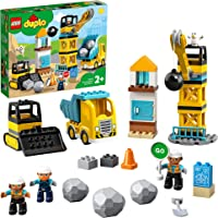 LEGO DUPLO Construction Wrecking Ball Demolition 10932 Building Kit