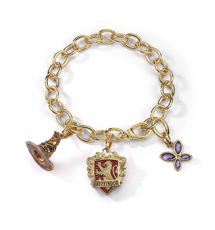 Amazon LUMOS HARRY POTTER Gryffindor Charm Bracelet Jewelry