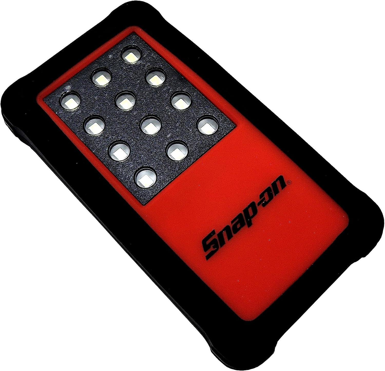 スナップオン LEDライト 切換えスイッチ&マグネット付き レッド ECFONELITE
