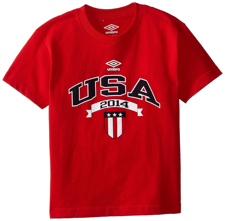 Amazon.com  UMBRO Big Boys  USA Tee Shirt  Clothing 02444310f