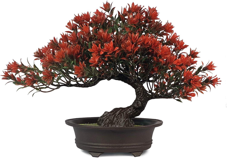 Artificial Bonsai Juniper Tree for Home Office Indoor Showcase Decor