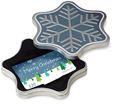 Amazon.co.uk Gift Card - In a Gift Box - £20 (Snowflake - Merry ...