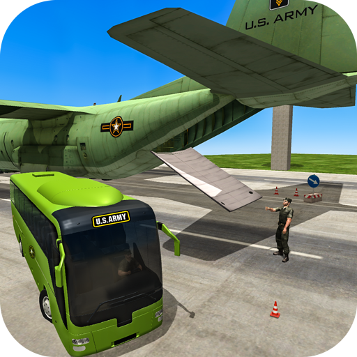 Plane Space Boeing (US Army Bus Driver Plane Transport Game)